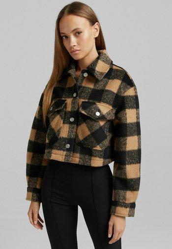 MIT KAROMUSTER - Summer jacket - brown