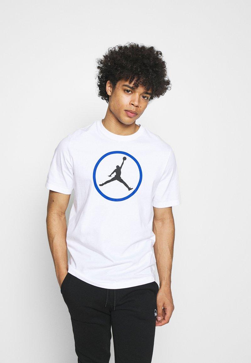 Jordan - CREW - Print T-shirt - white