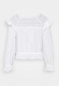 sandro - Long sleeved top - ecru - 1