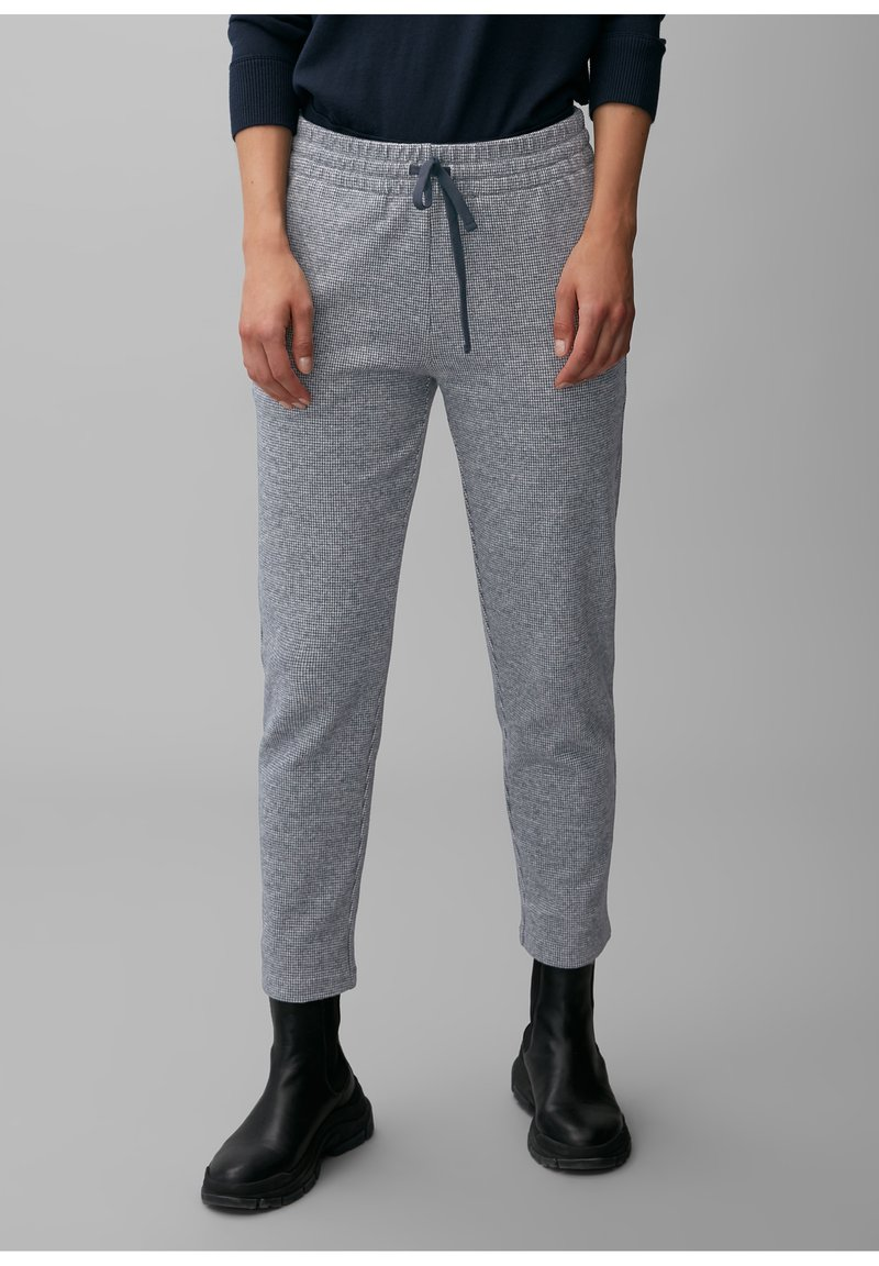 Marc O'Polo - ELASTISCHEM BAUMWOLL-MIX - Tracksuit bottoms - multi/dark night