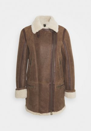 AVIA JACKET - Cappotto classico - walnut/natural