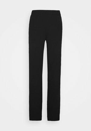 ONLDREAMER FLAIR SLIT PANTS - Trousers - black