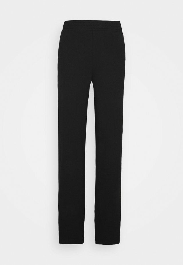 ONLDREAMER FLAIR SLIT PANTS - Pantalon classique - black
