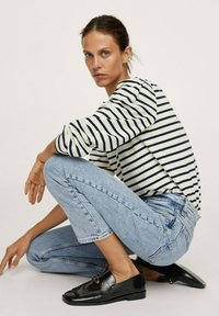 Mango - Straight leg jeans - light blue - 5