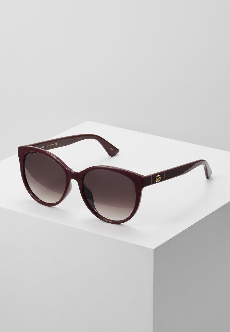 Gucci - Okulary przeciwsłoneczne - burgund/red