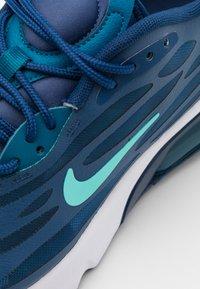 Nike Sportswear - AIR MAX EXOSENSE UNISEX - Zapatillas - mystic navy/bleached turquoise/coastal blue/green abyss/white/leche blue - 5