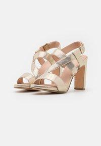 Menbur - High heeled sandals - gold - 2