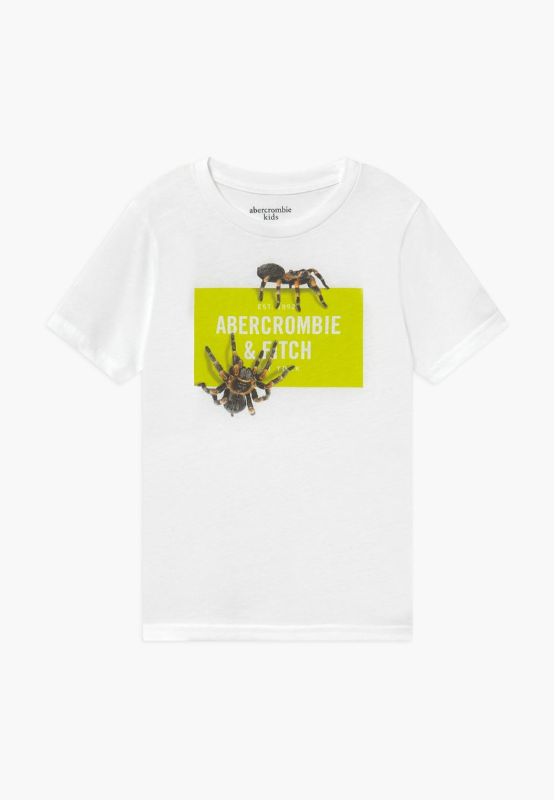 Abercrombie & Fitch - IMAGERY PRINT - Print T-shirt - white