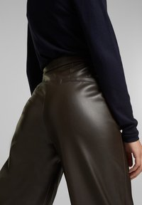 Esprit - FASHION  - Trousers - brown - 3