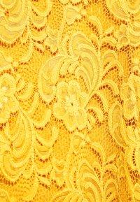 MAMALICIOUS - MLMIVANA BACK DRESS - Koktejlové šaty/ šaty na párty - chinese yellow - 5