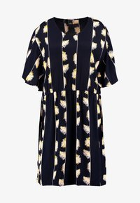 ADIA - DRESS KNEELENGTH - Korte jurk - navy - 3