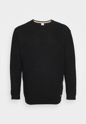JORMIKE CREW NECK - Jumper - black