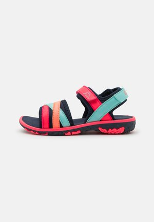 UNISEX - Walking sandals - navy/pink