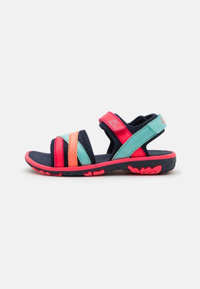 UNISEX - Sandały trekkingowe - navy/pink