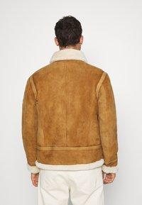 Serge Pariente - KENNEDY - Leather jacket - camel - 2