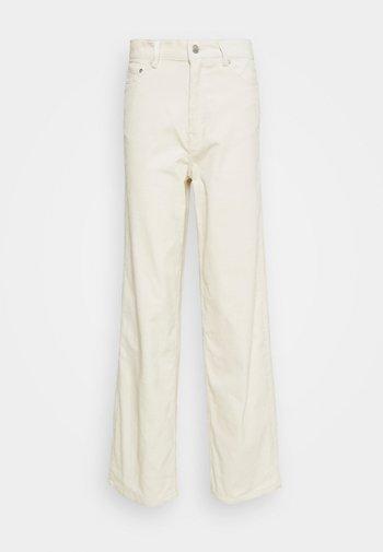 LASHES TROUSERS - Pantalones - cream