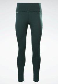 Reebok - LES MILLS® LUX PERFORM LEGGINGS - Leggings - green - 6