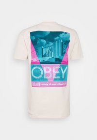Obey Clothing - CONFORMITY STANDARDS - Print T-shirt - cream - 1