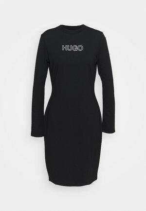 DASSY - Jersey dress - black