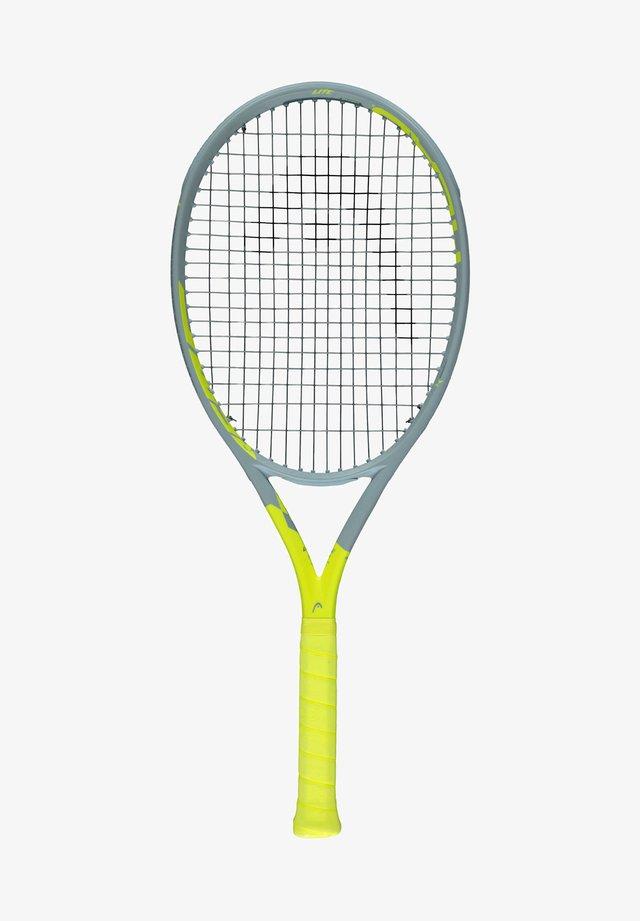 Tennis racket - grau/gelb