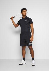 adidas Performance - CLUB - T-shirt de sport - black/white - 1