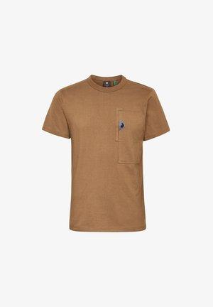 UTILITY POCKET LOGO - T-shirt print - wild olive