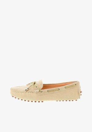 MARANELLO - Boat shoes - beige
