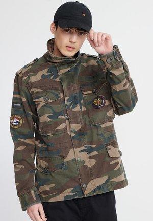 Summer jacket - army camo