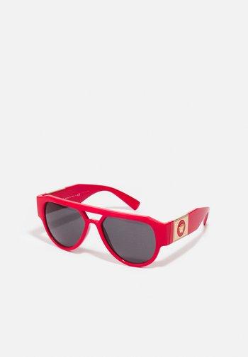 UNISEX - Sunglasses - red