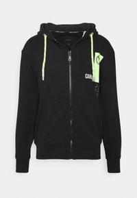 Carlo Colucci - HOODY ZIP - Zip-up hoodie - black - 0