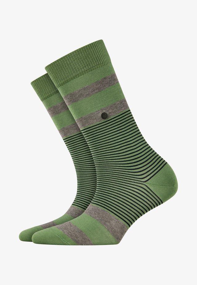 Socks - khaki green (7746)