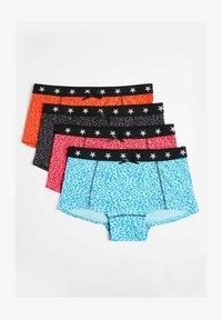 WE Fashion - 4 PACK - Pants - light blue, light pink, light grey - 0