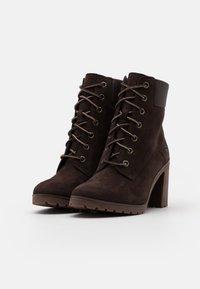 Timberland - ALLINGTON 6 IN LACE UP - High Heel Stiefelette - dark brown - 2