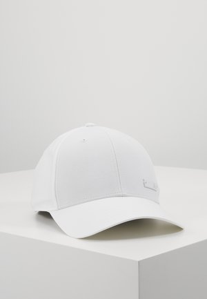 BBALLCAP LT MET - Cap - white