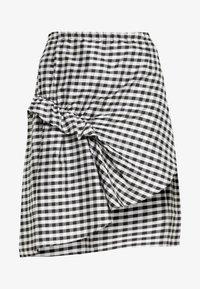 DESIGNERS REMIX - ALEXIS SKIRT - A-line skirt - black/white - 3