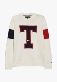 Tommy Hilfiger - BADGE  - Pullover - off-white - 0