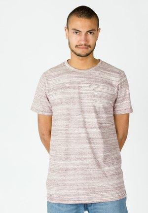 WARREN MEL - Print T-shirt - red