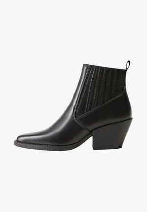 SANDRA - Classic ankle boots - schwarz