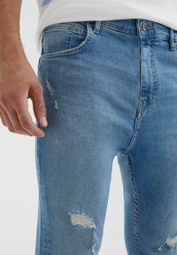 PULL&BEAR - Jeans slim fit - light blue - 3