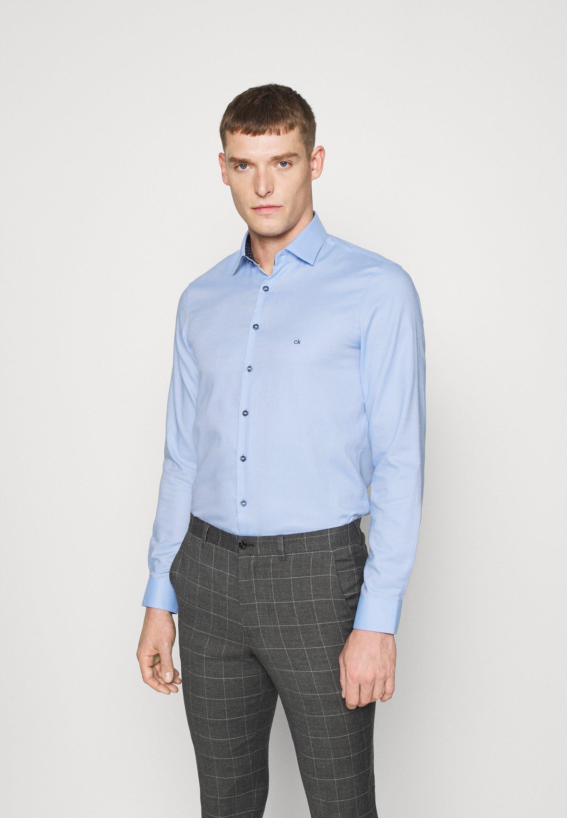 Men CONTRAST PRINT SLIM SHIRT - Formal shirt