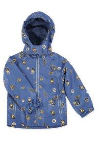 Minions - MATSCH UND BUDDELANZUG SET-Waterproof jacket - Regenbroek - marine print - 1