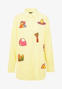 Stieglitz - RAUL BLOUSE - Button-down blouse - yellow - 3