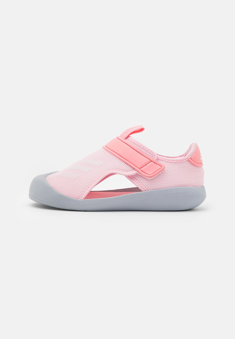 adidas Performance - ALTAVENTURE UNISEX - Pool slides - clear pink/footwear white/super pop