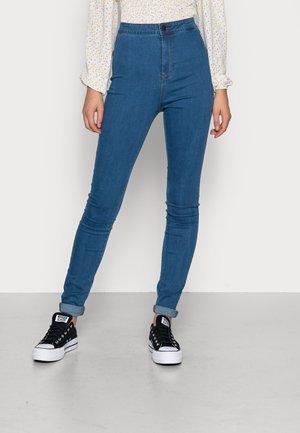 MELLA SUPER - Jeans Skinny Fit - medium blue denim