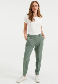 WE Fashion - Trousers - green - 1