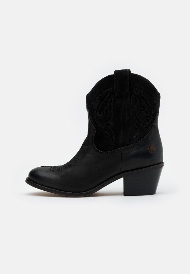 Cowboy- / Bikerstövletter - black