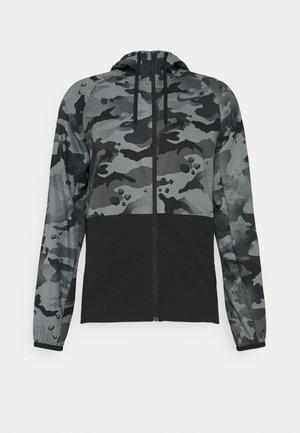 CAMO - Sportovní bunda - black/grey fog