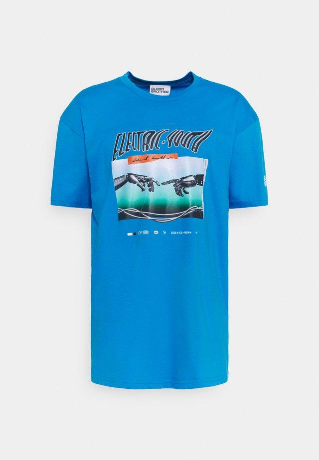 PAXTON TEE UNISEX - T-shirt con stampa - dark blue