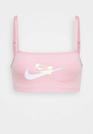INDY LOGO BRA - Soutien-gorge de sport - pink glaze/barely volt/white