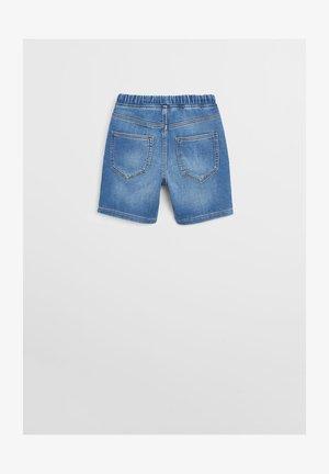 COMFY - Denim shorts - mittelblau
